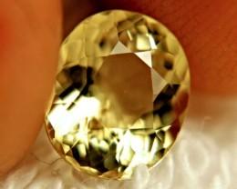2.41 Carat Natural South American VVS Golden Beryl