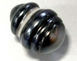 BLACK TAHITIAN CULTURED PEARL 12.5CTS ADG-815