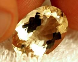 10.68 Carat VVS Golden Beryl - Gorgeous