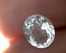 Sparkling 1.85 near Colorless Morganite, VVS EBA12