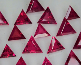 9.96tcw Burma Ruby Fancy Cut