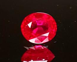 .75ct Burma Ruby Oval