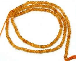 CITRINE  BEADS DRILLED FACETED 22  CTS NP-532