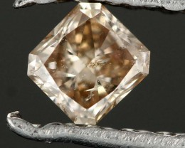 0.16cts Champagne Diamond - Natural (RS64)