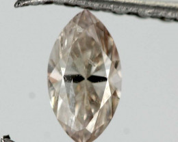 0.29cts Light Cognac Diamond - Natural (RS57)