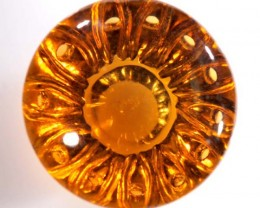 CARVED CITRINE 15.5 CTS  CG-1488