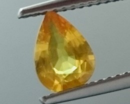 0.93ct Yellow Orange SAPPHIRE Gemstone