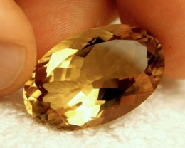 31.25 Carat VVS Natural Golden Citrine