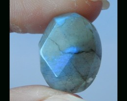 Fashion Faceted Labradorite Cabochon  - 20x15x9 MM