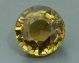 1.07ct Greenish Yellow TOURMALINE Gemstone
