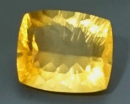 32.82ct Natural Yellow Fluorite Gemstone