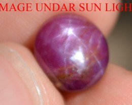 7.65 Carats Star Ruby Beautiful Natural Unheated & Untreated