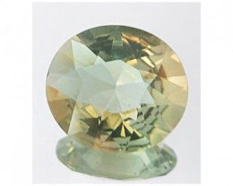 Oregon Sunstone Certified 3.2ct Light Yellow with Orange and Green Flashes
