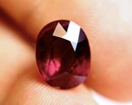 6.60 Carat Fiery Purplish Red Ruby - Superb