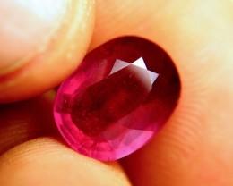 7.50 Carat Pinkish Red Ruby - Gorgeous