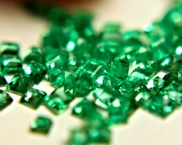 2.01 Tcw. Columbian Green Emeralds - Lovely