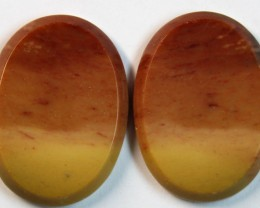 32.85 CTS MOOKAITE AUSTRALIAN JASPER FROM OLD COLLECTION