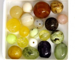ASSORTED NATURAL BEADS (PARCEL) 32.4 CTS  NP-1532