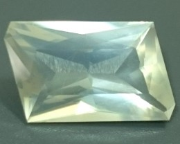3.56ct Faceted MOONSTONE Russia Gemstone
