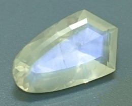 4.23ct Faceted MOONSTONE Russia Gemstone