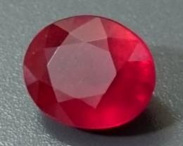2.24ct Red RUBY Gemstone Madagascar