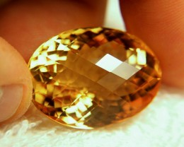 51.65 Carat Natural, Untreated Brazil Citrine - Superb