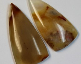 57.50 CTS 2 STONE AGATE PARCEL DEAL