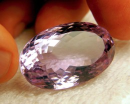 CERTIFIED - 104.47 Carat Natural IF/VVS1 Brazil Amethyst - Superb