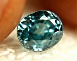 2.32 Carat VVS Lovely Blue Zircon