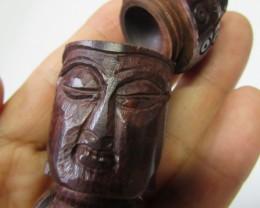 Pair jasper stones in Buddha    AGR632