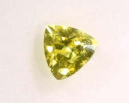 CERTIFIED YELLOW SAPPHIRE 0.22  CTS TBM-431