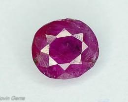 0.75 ct Rarest pink Untreated Kashmir Corundum Sapphire