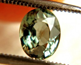 1.37 Carat Green VS-SI Sri Lanka Sapphire