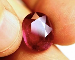 9.88 Carat Fiery Pigeon Blood Ruby - Gorgeous Gemstone