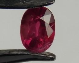 1.00ct Burma Oval Ruby