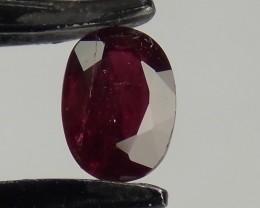 .97ct Burma Oval Ruby