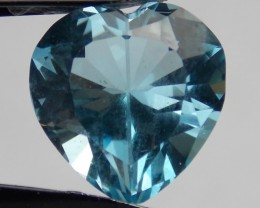 6.06ct Heart with Cross Topaz