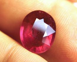 9.33 Carat Fiery Purplish Red Ruby - Superb