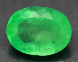5.87ct Natural Neon Green RARE Columbia EMERALD