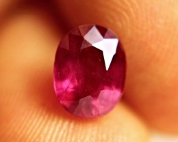 CERTIFIED - 2.66 Carat Fiery Natural Ruby