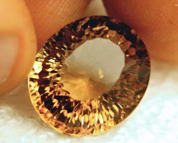 18.05 Carat VVS/VS Golden Brown Brazil Topaz