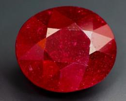 AAA BIG 17.53ct Natural NICE Dark Red Madagascar Facet Ruby