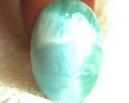 34.1 Carat 24mm Natural Dominican Larimar