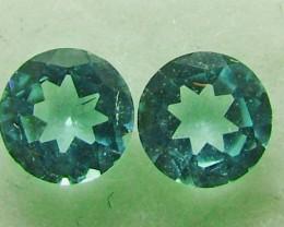 Paraiba Pair of Stones 0.35 carats ANA1109
