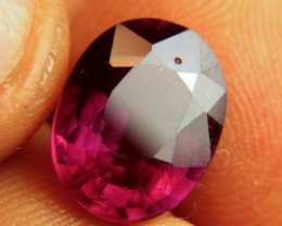 5.95 Carat Flashy Purplish Red Ruby - Beautiful