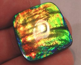 FANTASTIC 'TOP QUALITY' COLOR CHANGER Natural Ammolite Gem