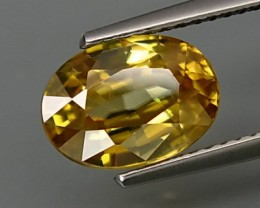 VERY NICE NATURAL YELLOW ZIRCON 4,10 CTS