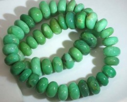 CHRYSOPRASE BEADS 685 CTS  CG-1531