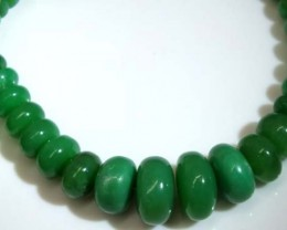 CHRYSOPRASE BEADS 216 CTS CG-1533