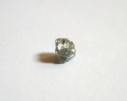 RARE CERTIFIED NATURAL DIAMOND CUBE 1,15 CT